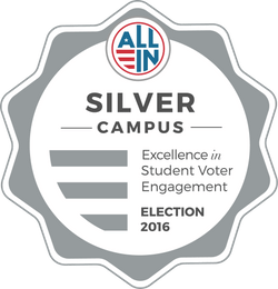 All In Campus Democracy Challenge Silver Award 2016